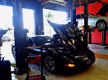 Auto Electrical Repair Alarm Removal from Chevy Corvette