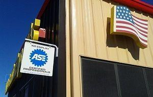 San Antonio Repair Auto Shop Showing Military Support