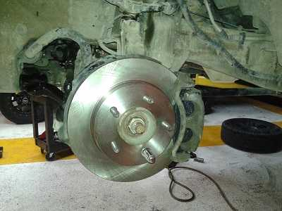 Brake Job on Ford F150