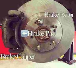 Brake Repair Pad & Rotor Replacement