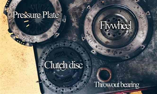 Clutch Repair Display by Auto Service Experts Optimized