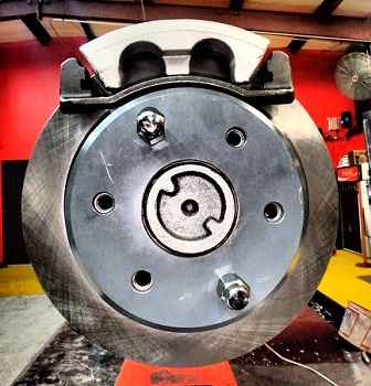 Disk brake replacement on Chevrolet
