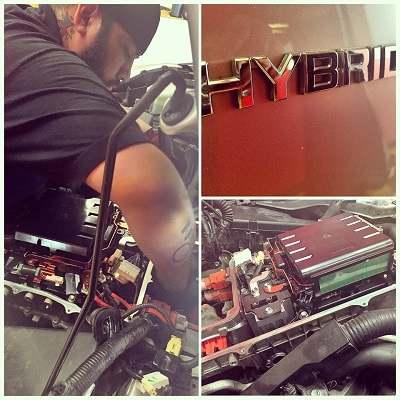 Abs Actuator Replacement 2007 Toyota Prius Hybrid Car Repair