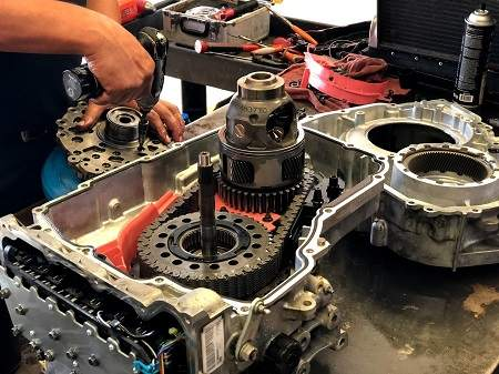 how to rebuilt a transmission