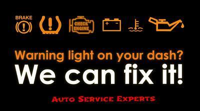 Vehicle Warning Light Diagnostics Repair San Antonio TX 78232